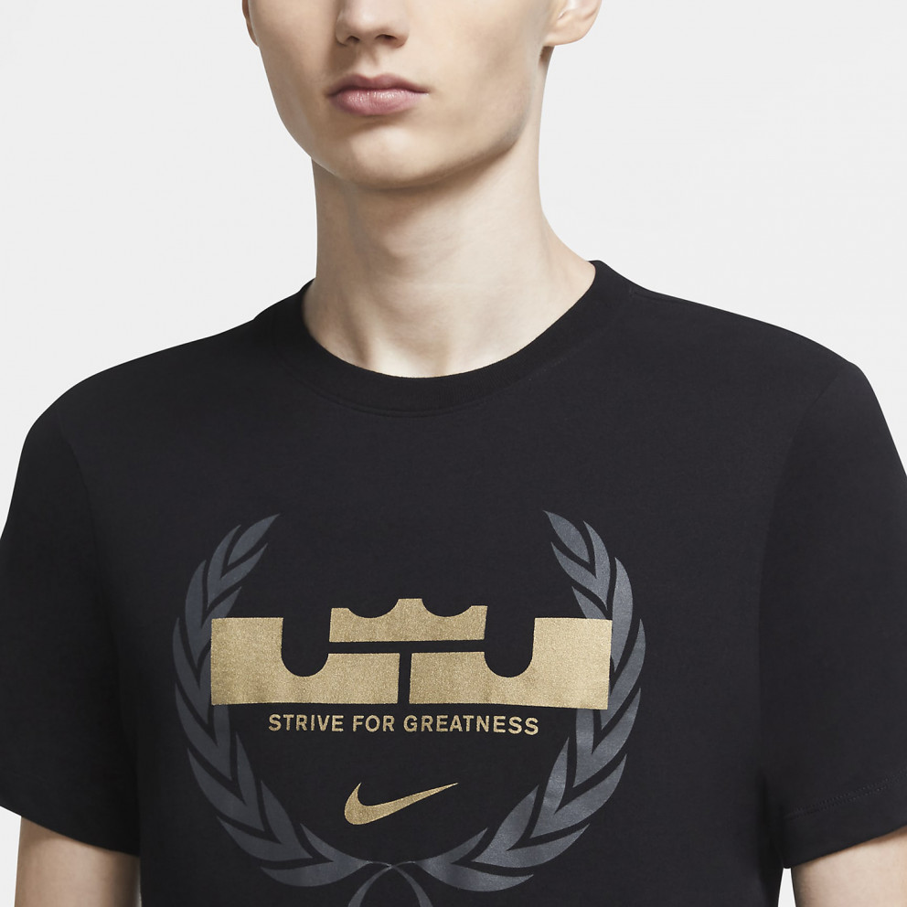 Nike LeBron James Logo Dry-FIT Ανδρικό T-Shirt
