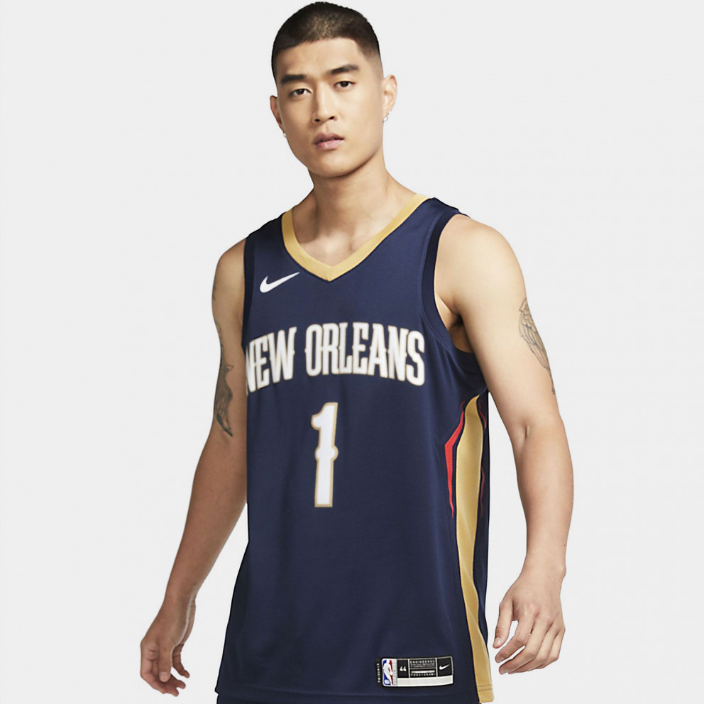 Nike NBA Zion Williamson New Orleans Pelicans Icon Edition 2020 Men's Jersey
