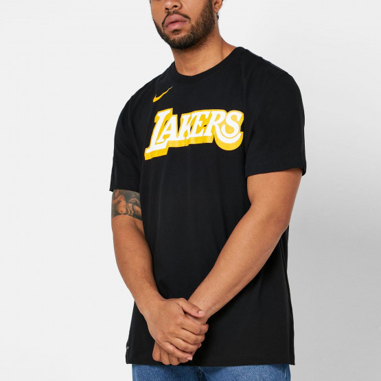Nike NBA Dri-FIT Lakers City Edition Ανδρικό T-shirt
