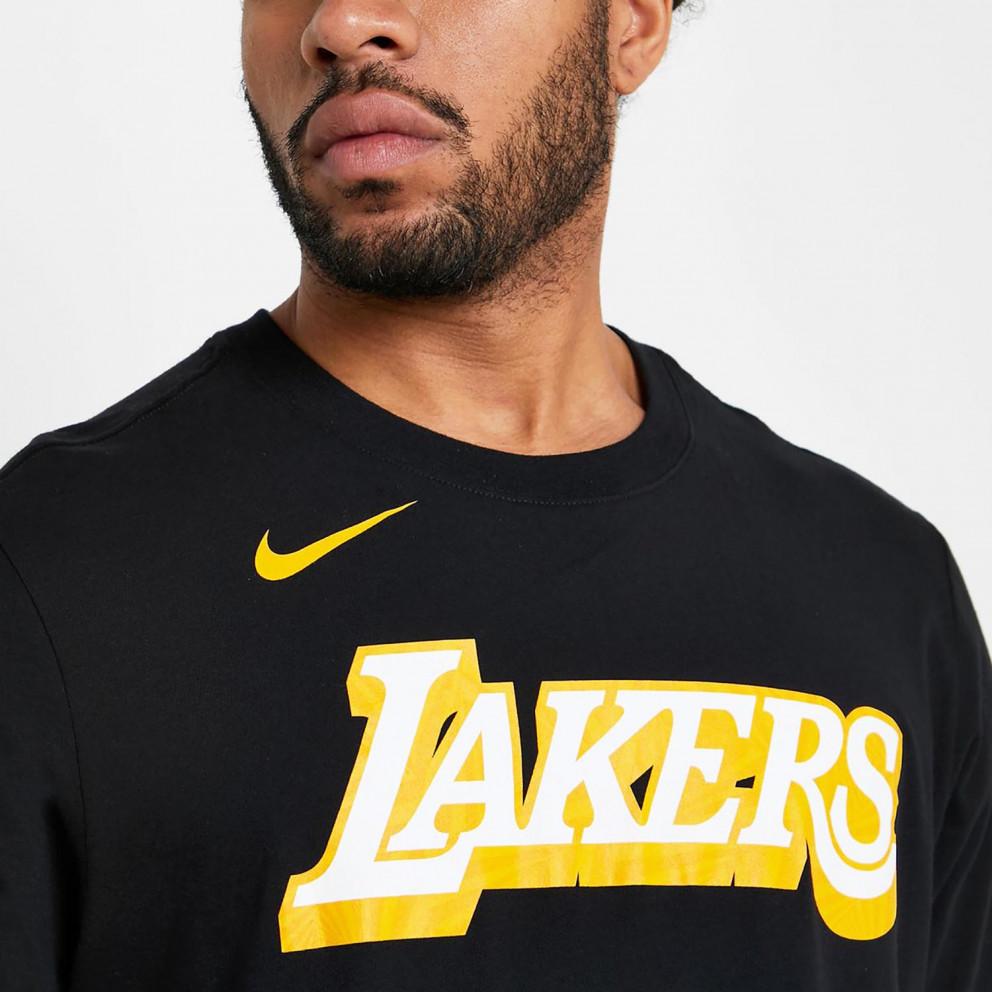 Nike NBA Dri-FIT Los Angeles Lakers City Edition Ανδρικό T-Shirt