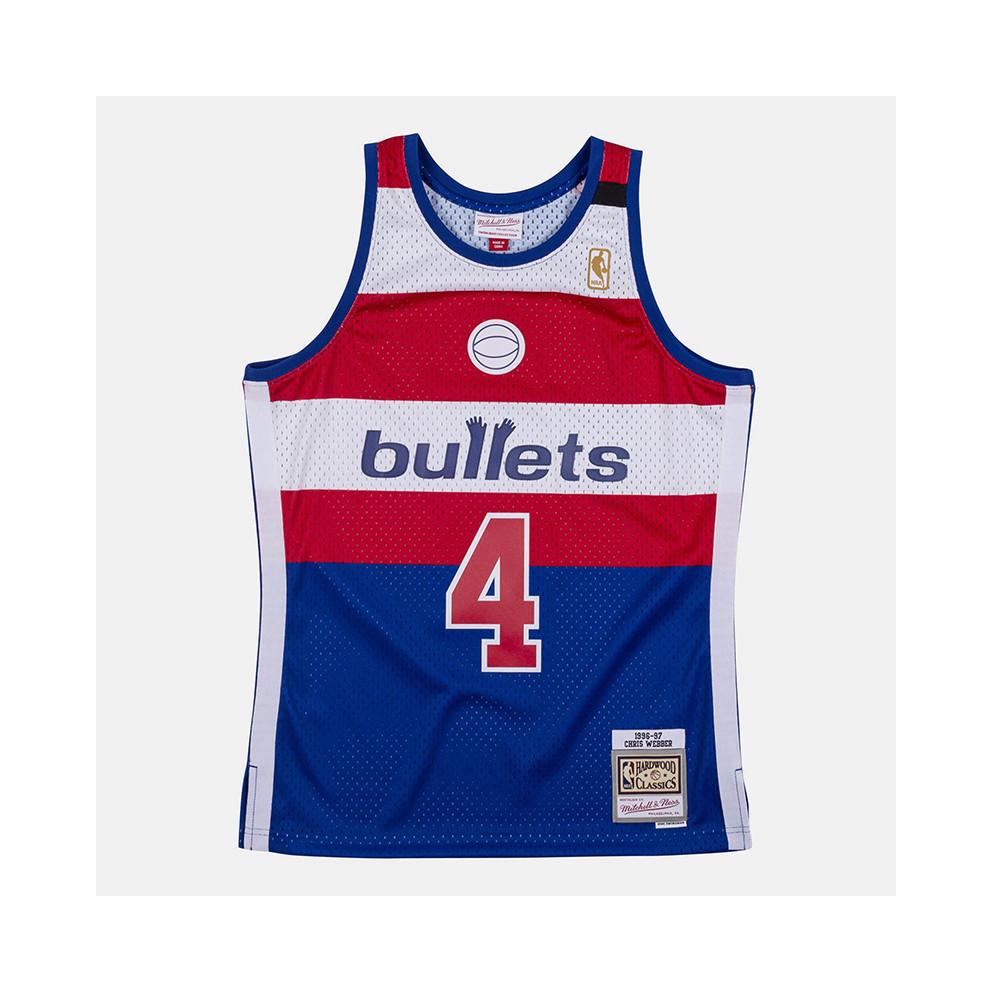 Mitchell & Ness Swingman Washington Bullets Chris Webber Jersey