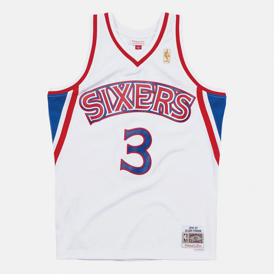 Mitchell & Ness Philadelphia 76ers Home 1996-97 Allen Iverson Men's Swingman Jersey