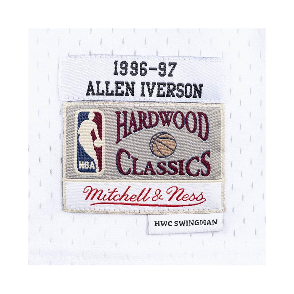 Mitchell & Ness Philadelphia 76ers Home 1996-97 Allen Iverson Men's Swingman Jersey