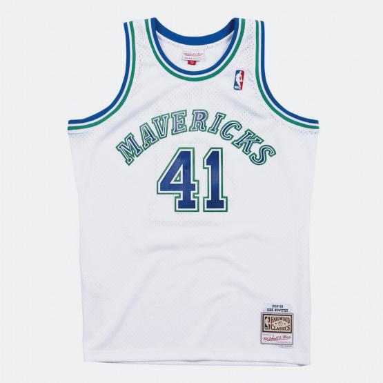 Swingman Jersey Dallas Mavericks 1998-99 Dirk Nowitzki Men's Sleevless Shirt