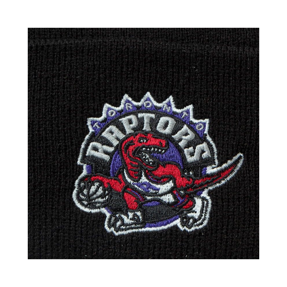 Mitchell & Ness Team Logo Cuff Knit Toronto Raptor