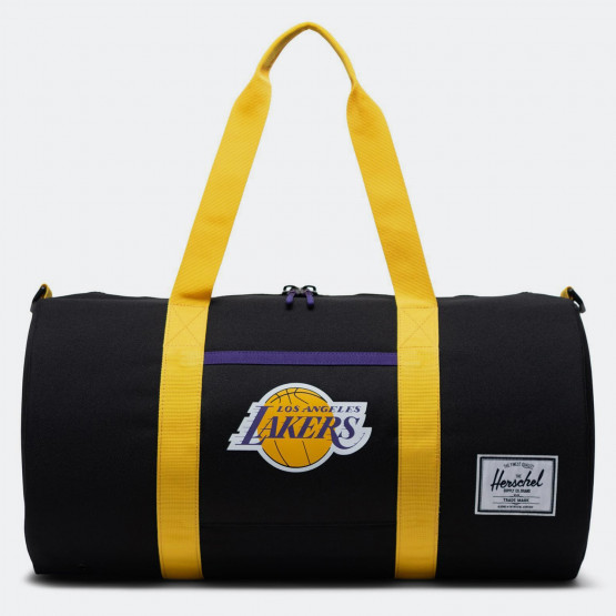 Herschel Sutton Mid-Volume Los Angeles Lakers Duffle Bag 28L - 26 x 51,4 x 26 cm