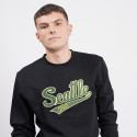 Mitchell & Ness Embroidered Logo Crew Seattle Supersonics