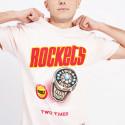 Mitchell & Ness Pastel Rings Houston Rockets T-Shirt