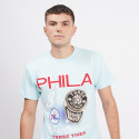 Mitchell & Ness Pastel Rings Philadelphia 76ers T-Shirt