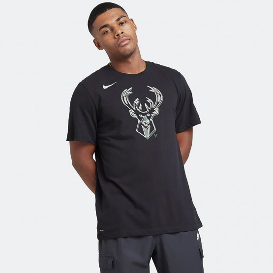 Nike NBA Milwaukee Bucks Logo Dri-FIT Men's T-Shirt