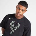 Nike NBA Milwaukee Bucks Logo Dri-FIT Ανδρικό T-Shirt
