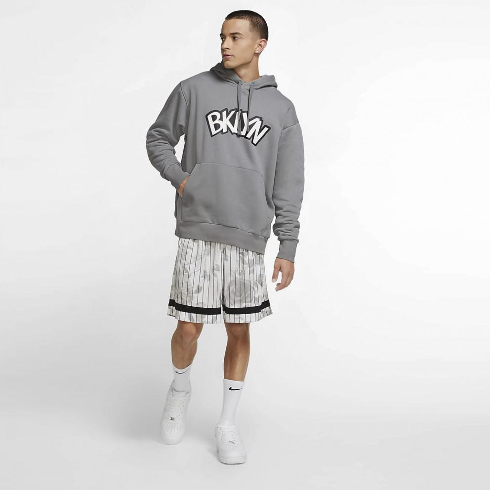Jordan NBA Brooklyn Nets Statement Edition Ανδρική Μπλούζα με Κουκούλα