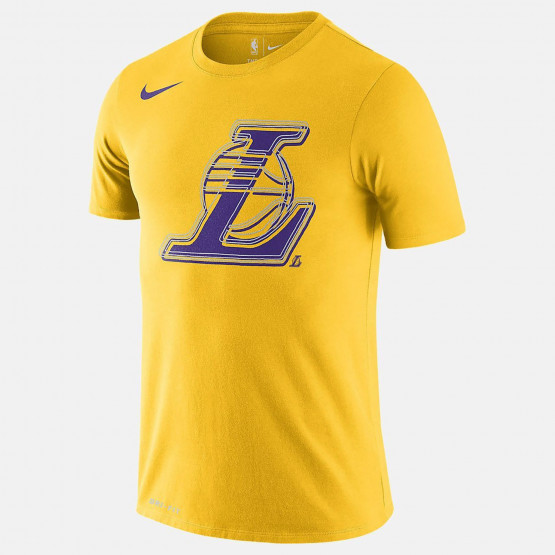 Nike NBA Los Angeles Lakers Logo Dri-FIT Men's T-Shirt