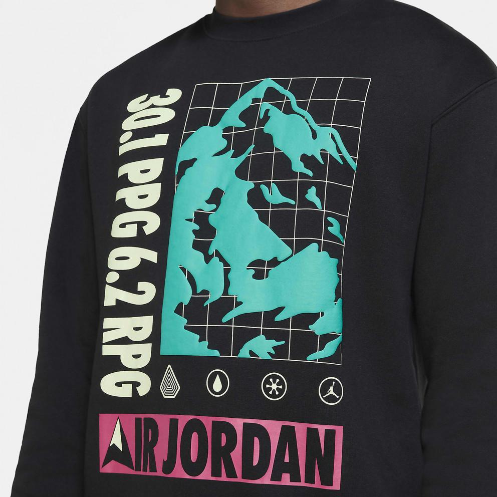 Jordan Mountainside Ανδρική Μπλούζα Φούτερ