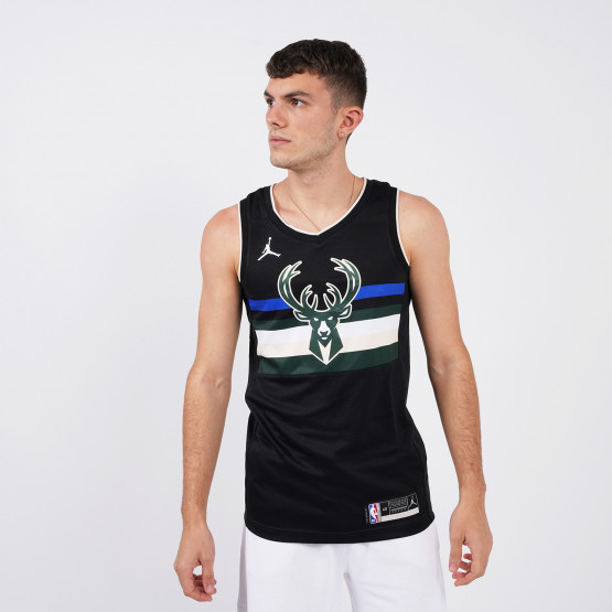Jordan NBA Milwaukee Bucks Statement Edition 2020 Men's Jersey