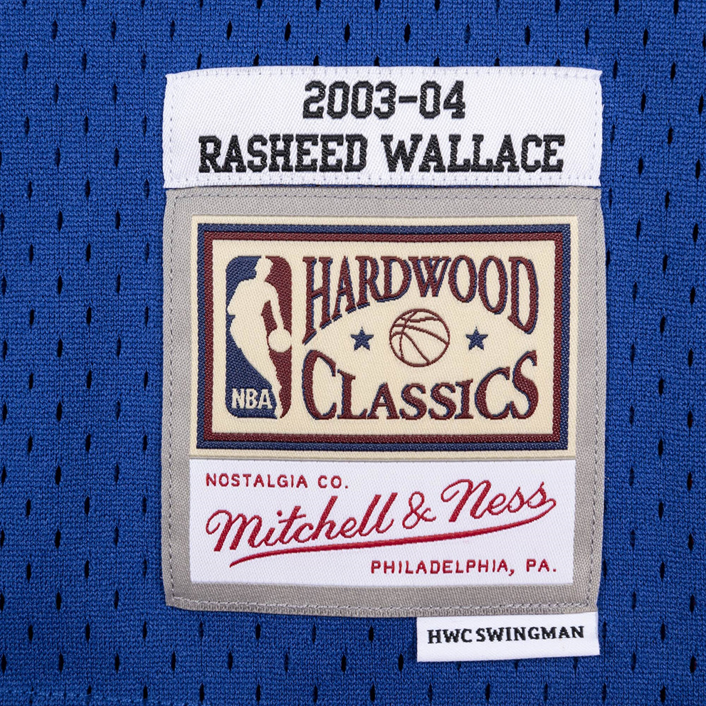 Mitchell & Ness NBA Detroit Pistons Rasheed Wallace Ανδρικό Jersey