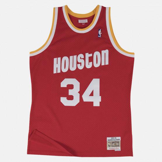 Mitchell & Ness NBA Houston Rockets Hakeem Olajuwon Ανδρικό Jersey