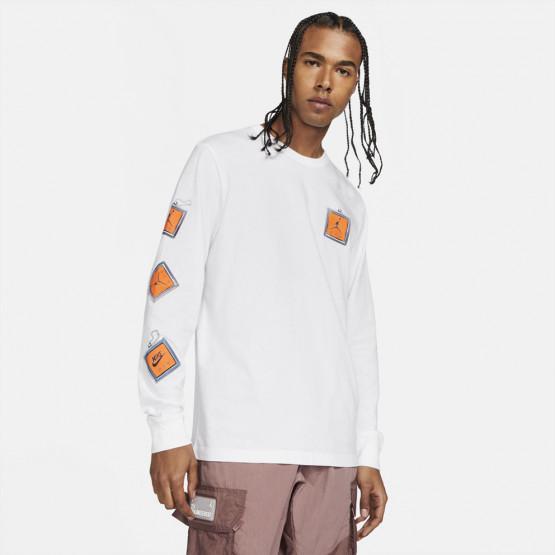 Jordan MJ Keychain Men's Long-sleeved Shirt