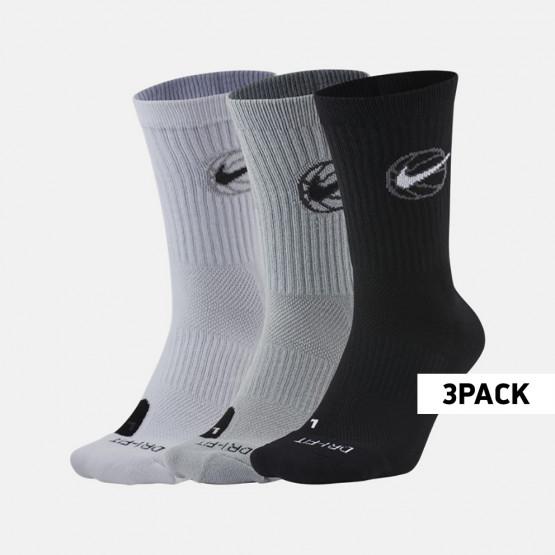 Nike Crew Everyday Basketball Socks 3Pr Men's Socks