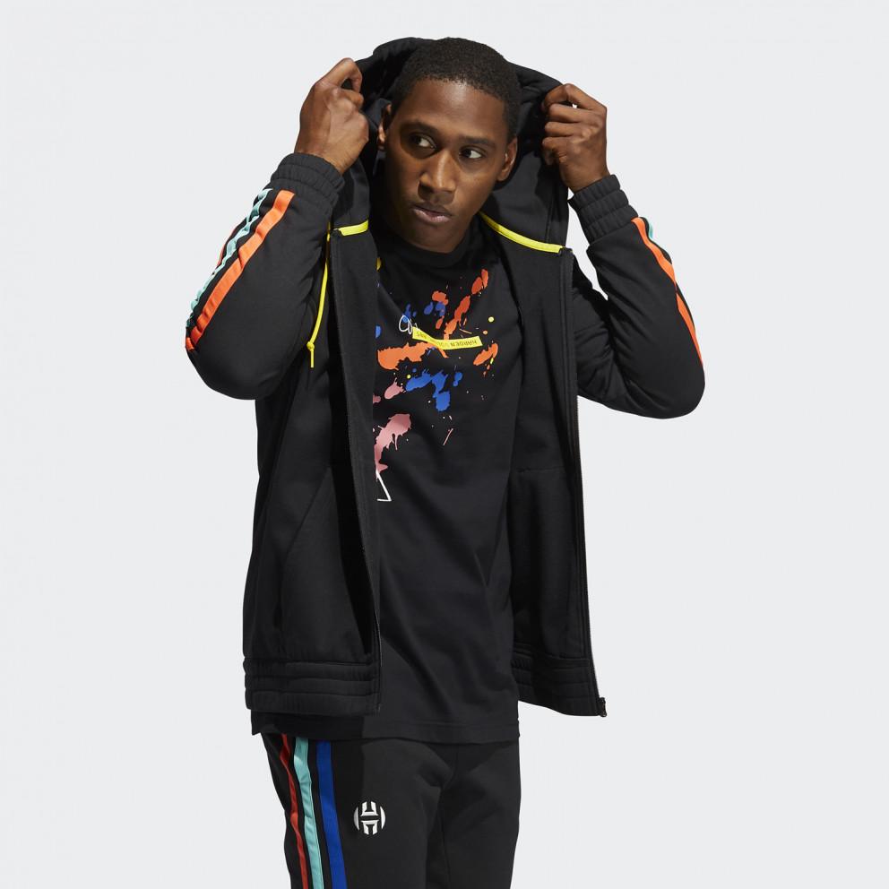 adidas Performance Harden Fleece Full-Zip Jacket Ανδρική Ζακέτα