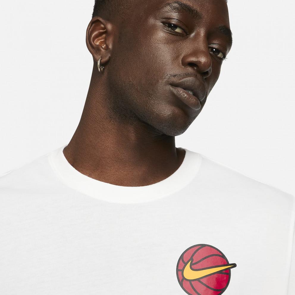 Nike Dri-FIT Ανδρικό T-shirt για Μπάκετ