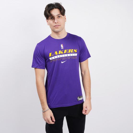 Nike NBA Los Angeles Lakers Dri-FIT Men's T-Shirt