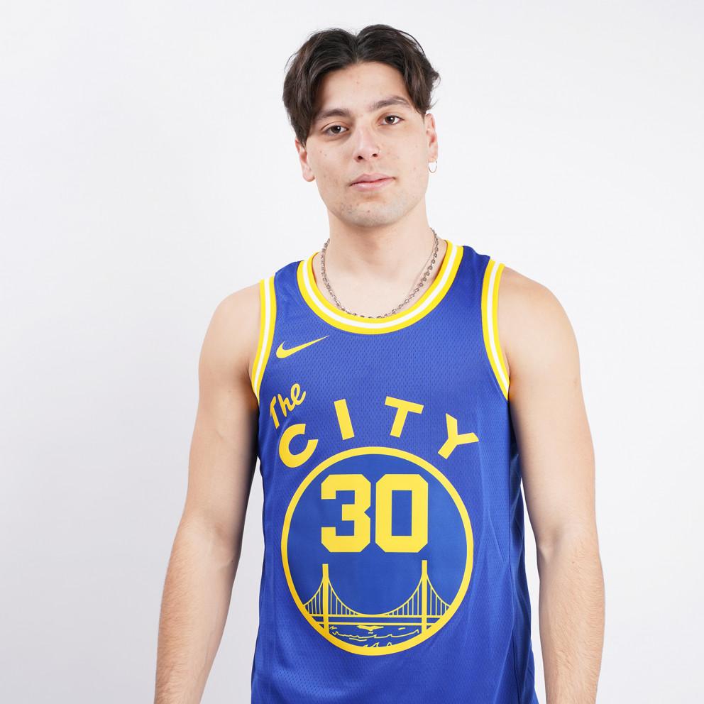 Nike NBA Stephen Curry Golden State Warriors Hardwood Classics Men's Jersey