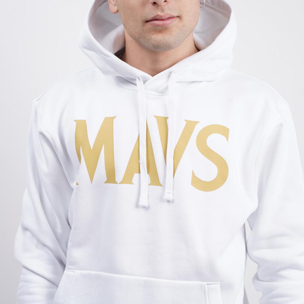Nike NBA Dallas Mavericks City Edition Ανδρική Μπλούζα με Κουκούλα