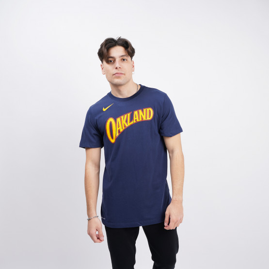 Nike NBA Golden State Warriors City Edition Ανδρικό T-Shirt