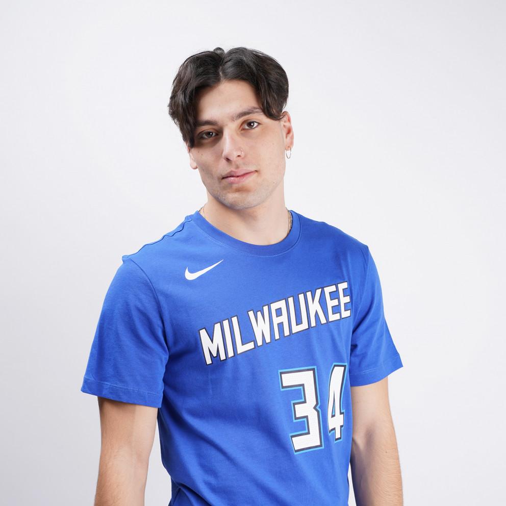 Nike NBA Giannis Antetokounmpo Milwaukee Bucks City Edition Ανδρικό T-Shirt