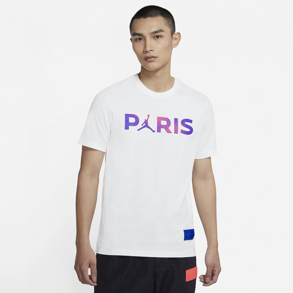 Jordan x PSG Wordmark Men's T-Shirt
