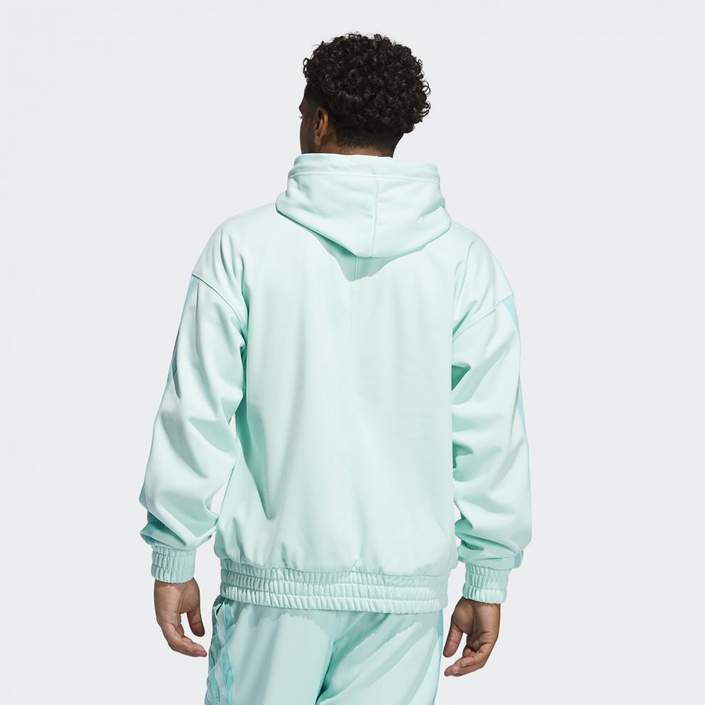 adidas Performance Donovan Mitchell Ανδρική Μπλούζα με Κουκούλα