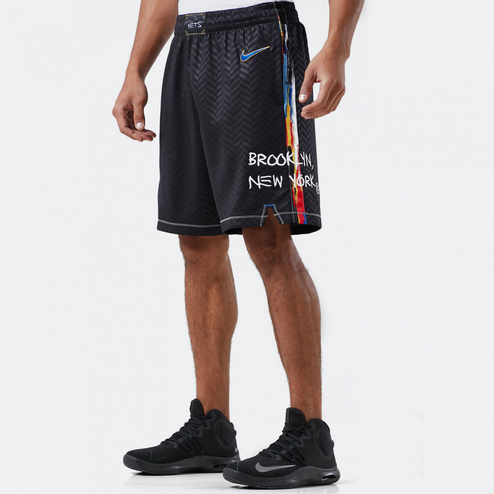 Nike NBA Brooklyn Nets City Edition 2020 Swingman Men's Basketball Shorts