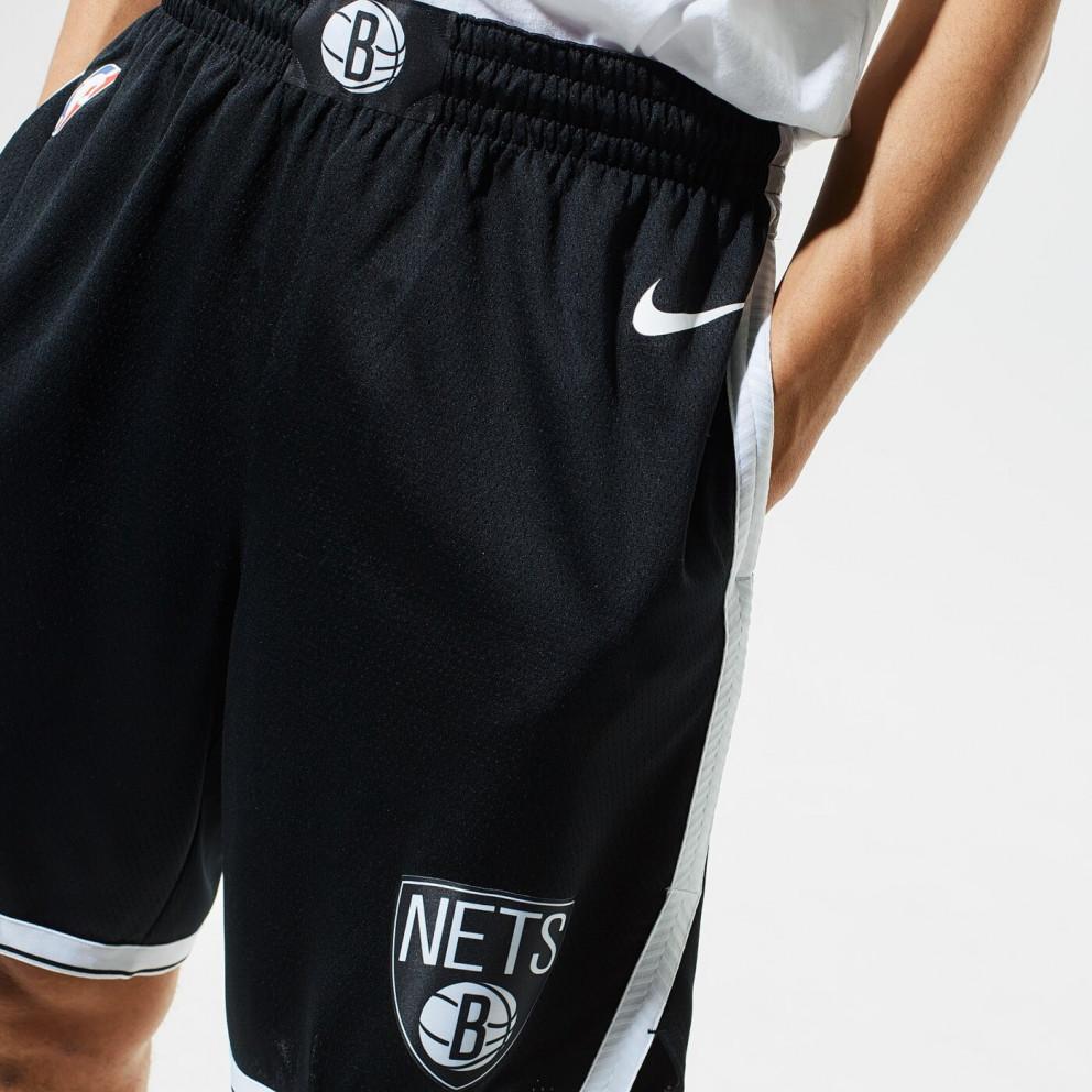 Nike NBA Brooklyn Nets Icon Edition Swingman Ανδρικό Μπασκετικό Σορτς
