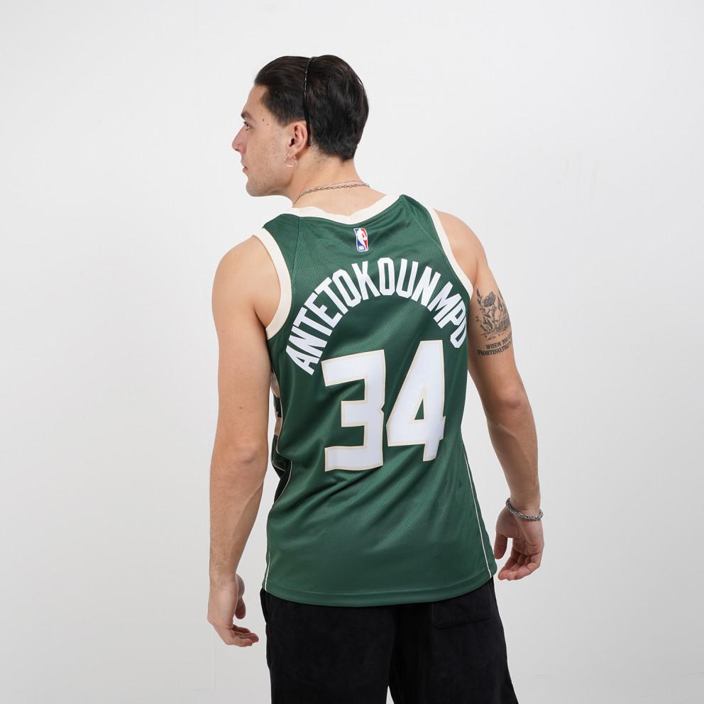 Nike NBA Giannis Antetokounmpo Milwaukee Bucks Icon Edition 2020 Men's Jersey