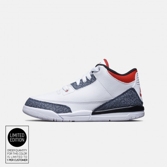 Jordan 3 Retro Παιδικό Παπούτσι Για Μπάσκετ