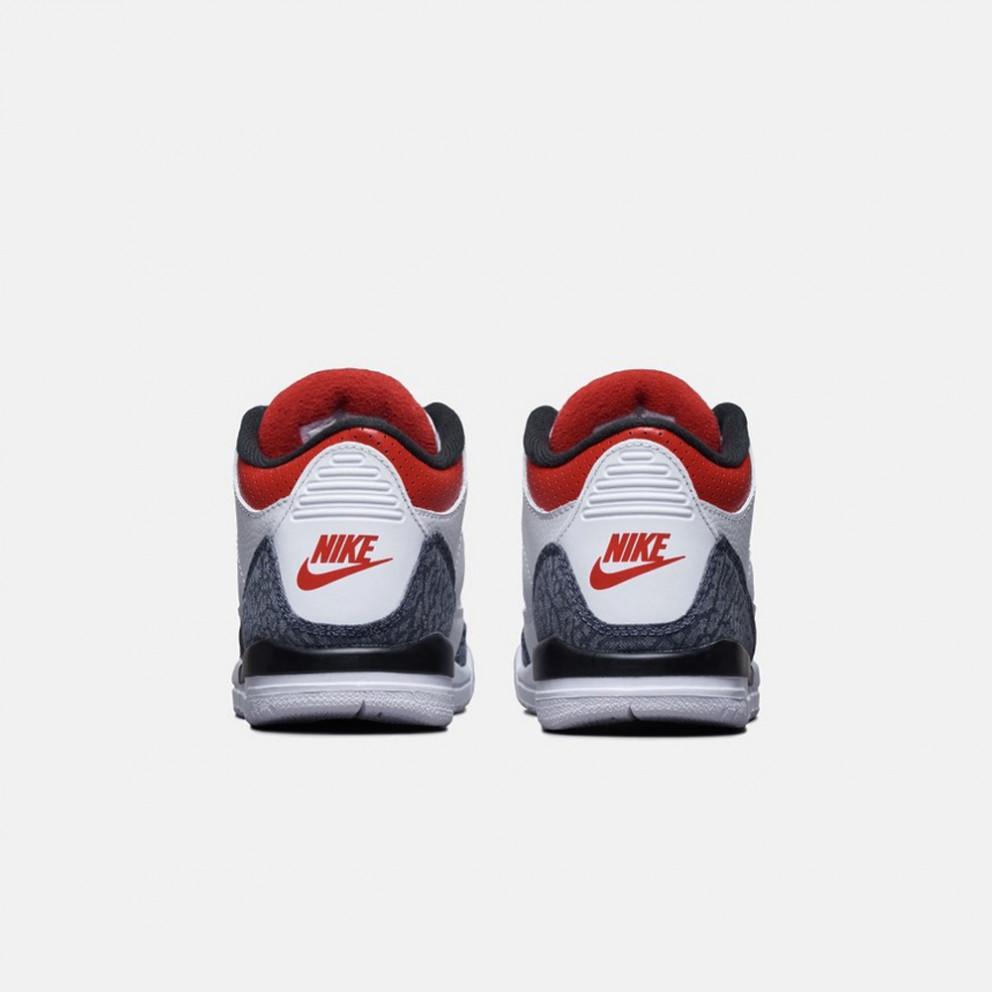 Jordan 3 Retro Kids' Basketball Shoes