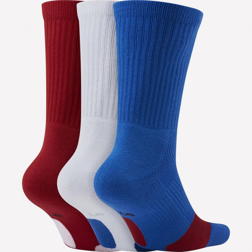 Nike Everyday Basketball Unisex Κάλτσες 3-Pack