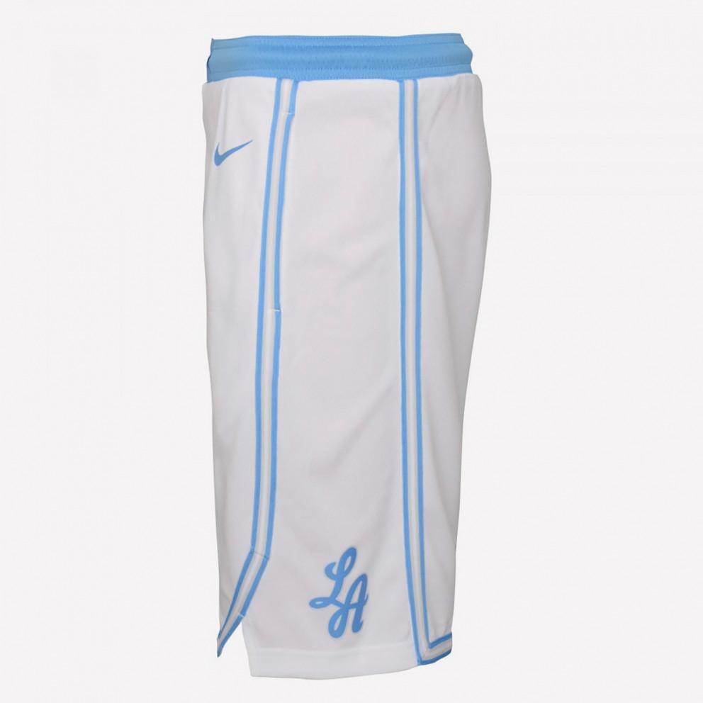 Nike NBA Los Angeles Lakers City Edition 2020-21 Swingman Men's Basketball Shorts