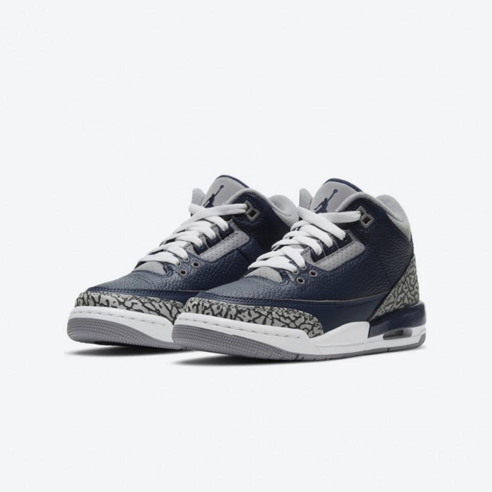 Jordan Air 3 Retro Kids' Basketball Shoes