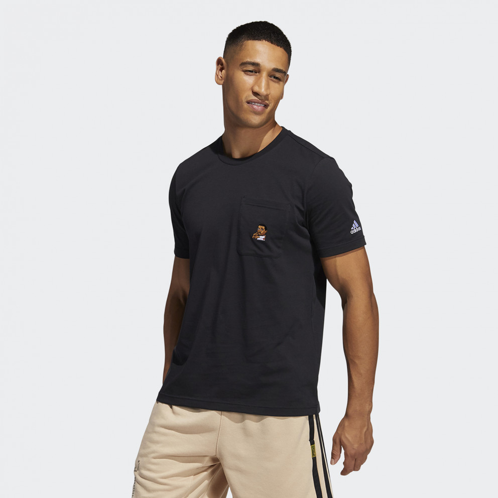 adidas Performance Dame Avatar Pocket Ανδρικό T-shirt