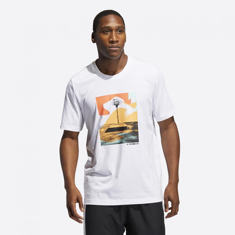 adidas Performance Slept On Graphic Ανδρικό T-shirt