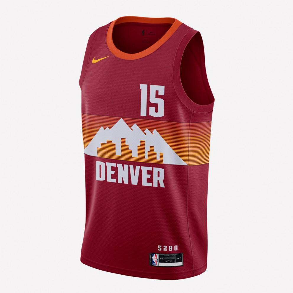 Nike NBA Nikola Jokic Denver Nuggets City Edition 2020 Swingman Men's Jersey