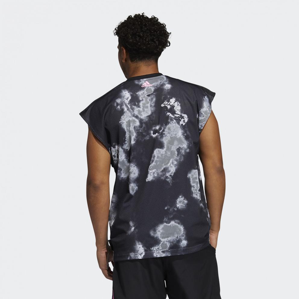 adidas Performance Donovan Mitchell Ανδρικό Αμάνικο T-shirt