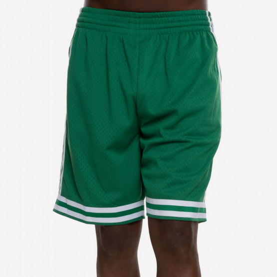 Mitchell & Ness Swingman Shorts Boston Celtics Road 1985-86