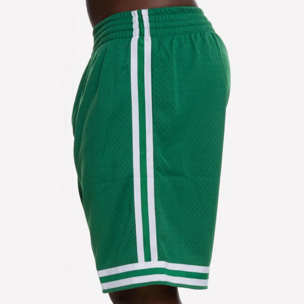 Mitchell & Ness Swingman Shorts Boston Celtics Road 1985-86