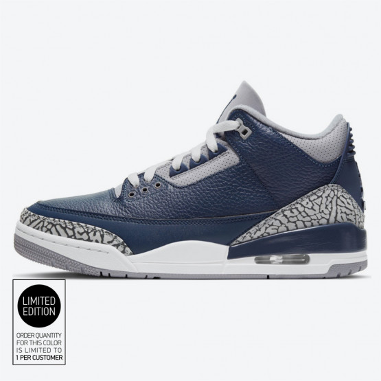 "Jordan Air 3 Retro Midnight Navy"" Men's Basketball Shoes"