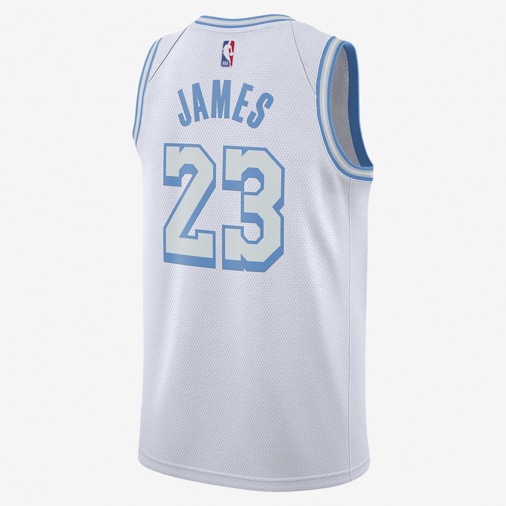 Nike NBA LeBron James Los Angeles Lakers City Edition Men's Jersey