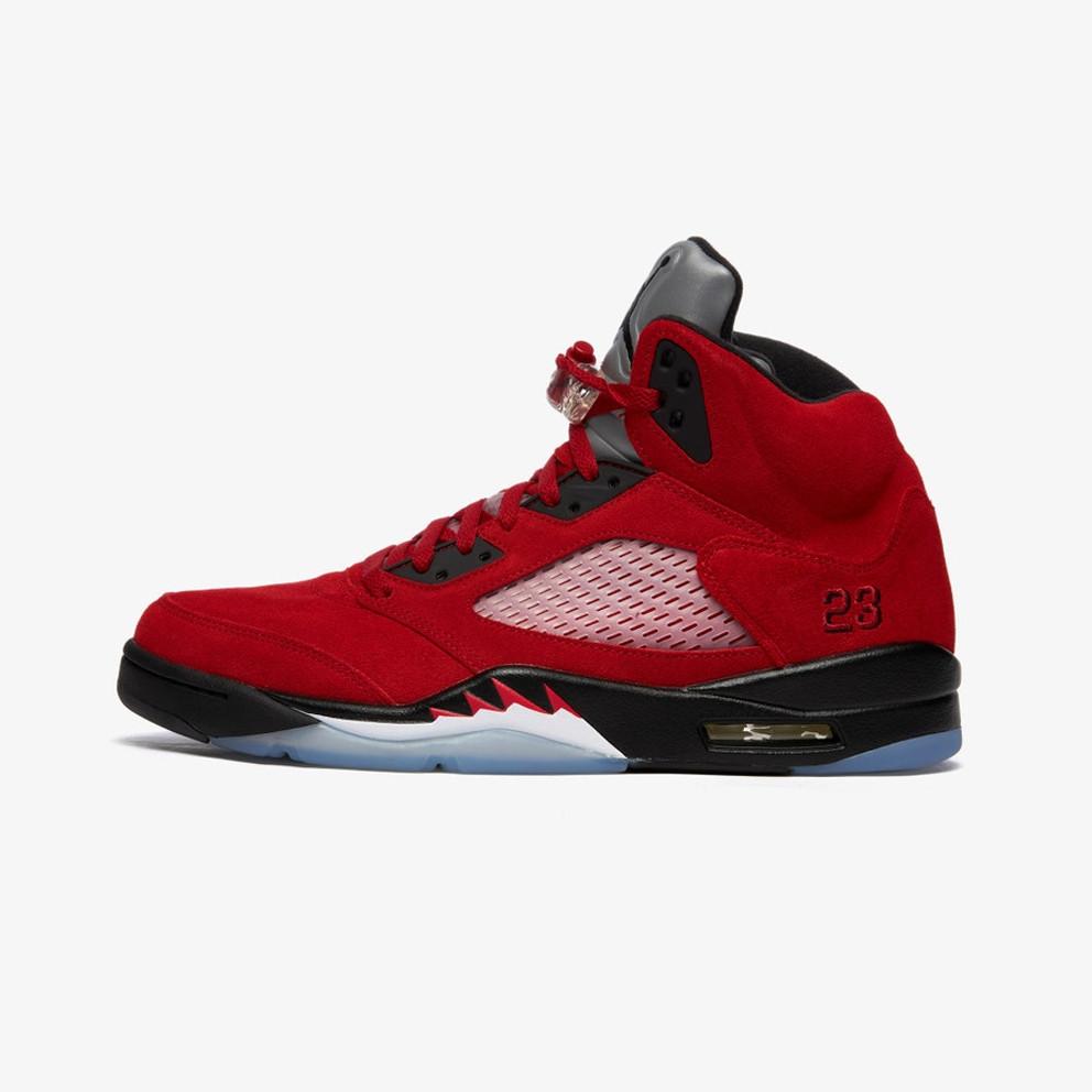 """Air Jordan 5 Retro """"Raging Bull"""" Men's Basketball Shoes"""