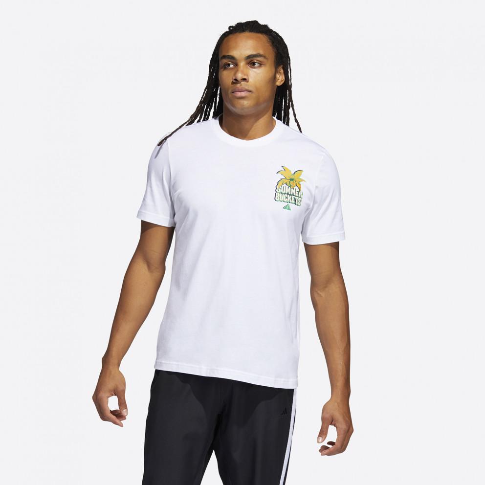 adidas Performance Summer Basketball Αντρικό T-shirt